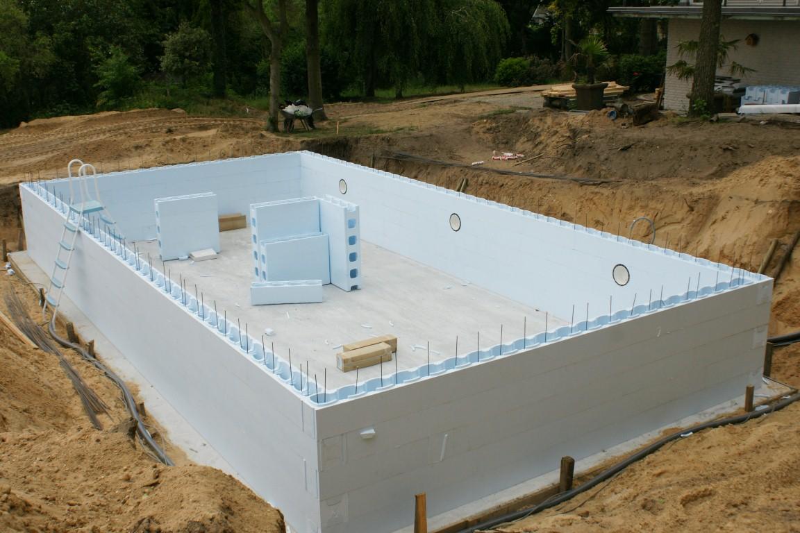 Inbouw zwembad voor niets wetende vriend for Ingebouwd zwembad zelf maken